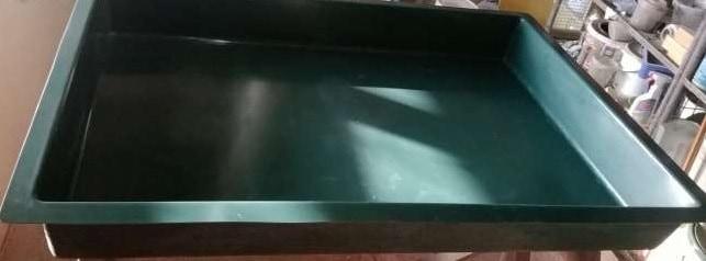 Üvegszálas szüretelő kád